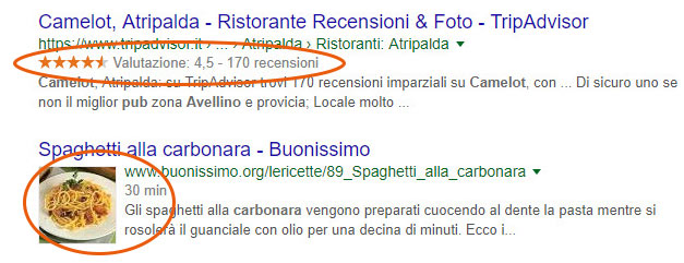 seo e rich snippet per il tuo business